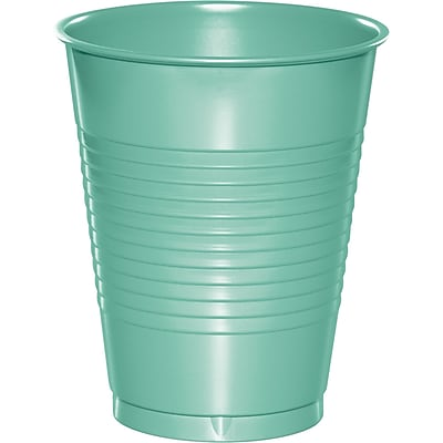 Touch of Color Fresh Mint Green Plastic Cups 20 pk (318883) 24008231