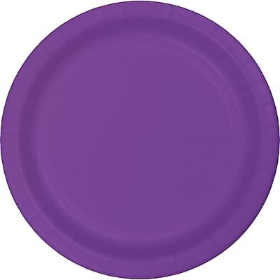 Touch of Color Amethyst Purple Plastic Banquet Plates 20 pk (318919)