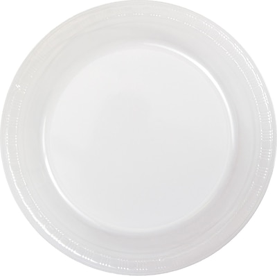 Touch of Color Clear Plastic Banquet Plates 50 pk (28114131B)