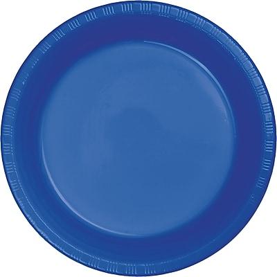 Touch of Color Cobalt Blue Plastic Banquet Plates 50 pk (319033)