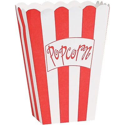 Creative Converting Hollywood Lights Popcorn Box 8 pk (080185)