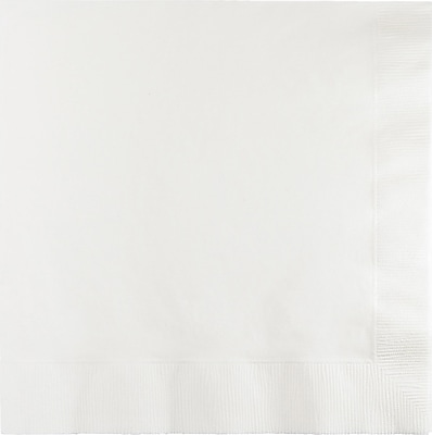 Celebrations White Beverage Napkins 20 pk (573272)