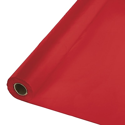 Touch of Color Classic Red Banquet Roll (763548B)