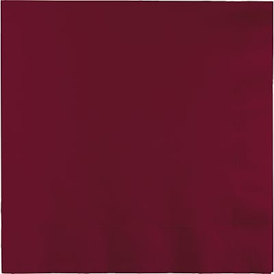 Touch of Color Burgundy Dinner Napkins 3 ply 25 pk (593122B)