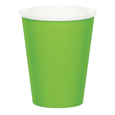 Celebrations Fresh Lime Green Cups 8 pk (563123)
