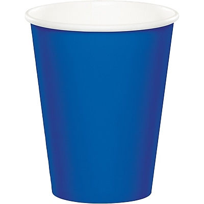 Celebrations Cobalt Blue Cups 8 pk (317377) 24008294