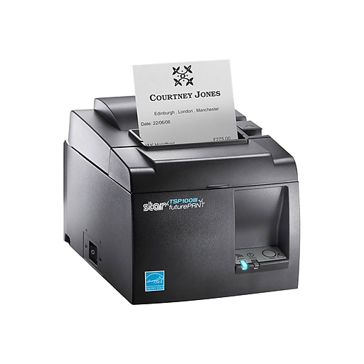 Star Micronics 39464710 TSP143IIIW Direct Thermal POS Printer, Wireless,  Gray