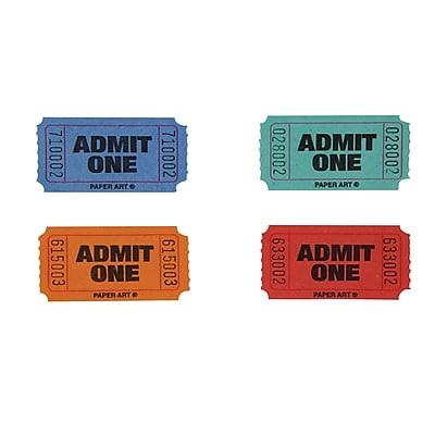 Creative Converting Raffle Tickets (132500)