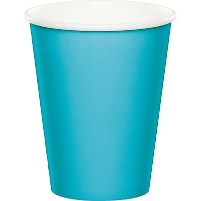 Celebrations Bermuda Blue Cups 8 pk (563552) 24008553