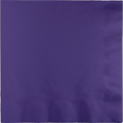 Touch of Color Purple Napkins 3 ply 50 pk (58115B)