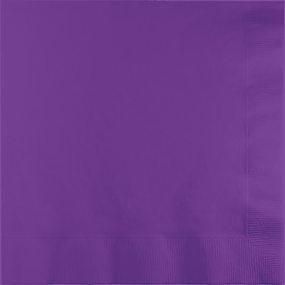 Touch of Color Amethyst Purple Dinner Napkins 25 pk (318928)