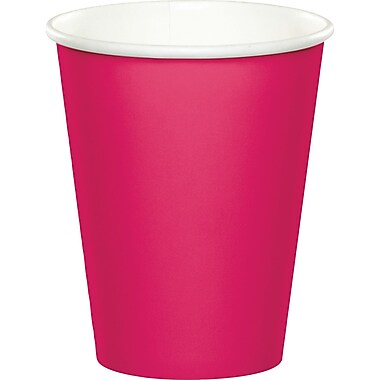 Celebrations Hot Magenta Pink Cups 8 pk (563277)