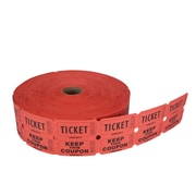 Creative Converting Ticket Roll - 500/Red/Bl/Or/Gr (132503)