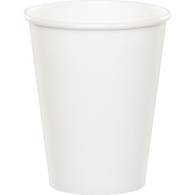 Celebrations White Cups 8 pk (563272)
