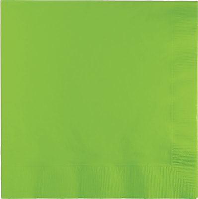 Touch of Color Fresh Lime Green Napkins 3 ply 50 pk (583123B)