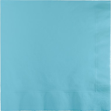 Touch of Color Pastel Blue Dinner Napkins 3 ply 25 pk (59157B)