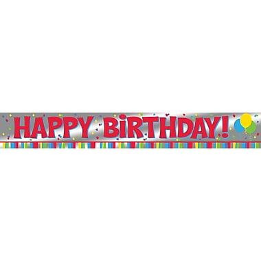 Celebrations Foil Happy Birthday Banner (291889)