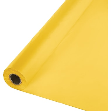 Touch of Color School Bus Yellow Banquet Roll (763269B)