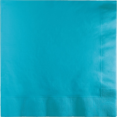 Touch of Color Bermuda Blue Dinner Napkins 25 pk (591039B)