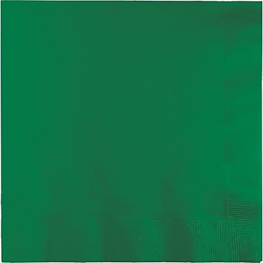 Touch of Color Emerald Green Dinner Napkins 3 ply 25 pk (59112B)