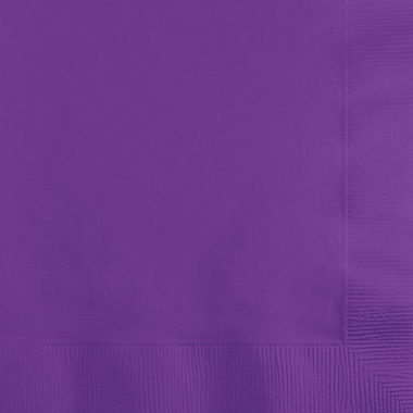 Touch of Color Amethyst Purple Beverage Napkins 50 pk (318923)