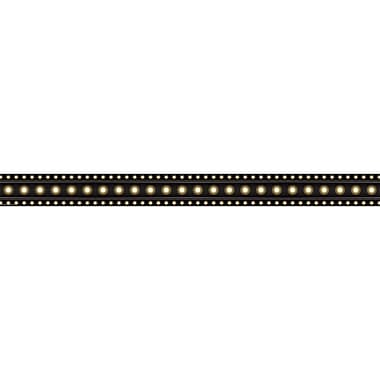 Teacher Created Resources Marquee Straight Border Trim, Black, 12/Pack (TCR5613)