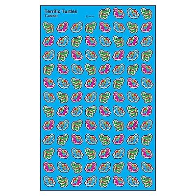 Trend Terrific Turtles superShapes Stickers, 800ct per pk, bundle of 6 packs (T-46090)