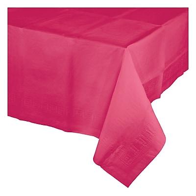 Celebrations Hot Magenta Pink Plastic Tablecloth (913277)
