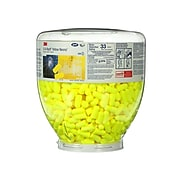 3M™ E-A-Rsoft™ Yellow Neons™ One Touch™ Refill Earplugs, Uncorded, Regular Size, 500/Box (391-1004)