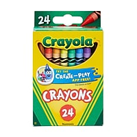 Crayola 24-Ct Crayons 523024 Deals
