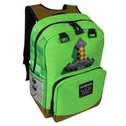 Minecraft Sword Adventure Backpack, Green (MNCR1011TA--GRN)