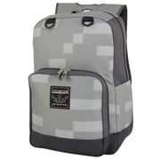 Minecraft Block Backpack, Gray (MNCR1002--GRY)