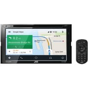 Jvcm Kw v830bt 6.8 inch Double din In dash Am/fm Dvd Receiver With Bluetooth & Siriusxm Ready by