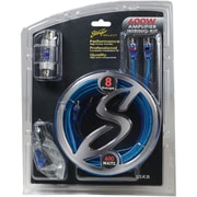 Stinger Ssk8 Select Wiring Kit With Ultraflexible Copper-clad Aluminum Cables (8 Gauge)