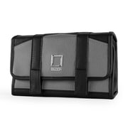 Lencca Stowaway Travel Organizer Compact Privacy Removable Compartment, Slate Black