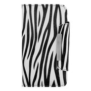 Zebra Wallet Card Holder Case for Samsung Galaxy Note 3