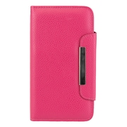 Pink Wallet Card Holder Case for Samsung Galaxy Note 3