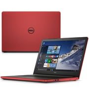 "Refurbished Dell 17-5765 17.3"" LED AMD FX-9800P, 1TB 8GB Microsoft Windows 10 Home Laptop Red"