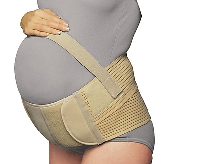 OTC Maternity Belt, Adjustable Comfort Fit Support, Large, Beige (2786-L)