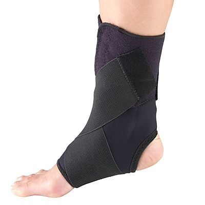 OTC Ankle Support with Wrap Around Strap, Large (2547-L)
