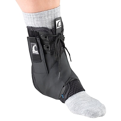 OTC Exoskeleton Ankle Stabilizer, Heel Locking Straps, Large (2376-L)