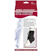 OTC Ankle Stabilizer with Heel Locking Strap, Small (2375-S)