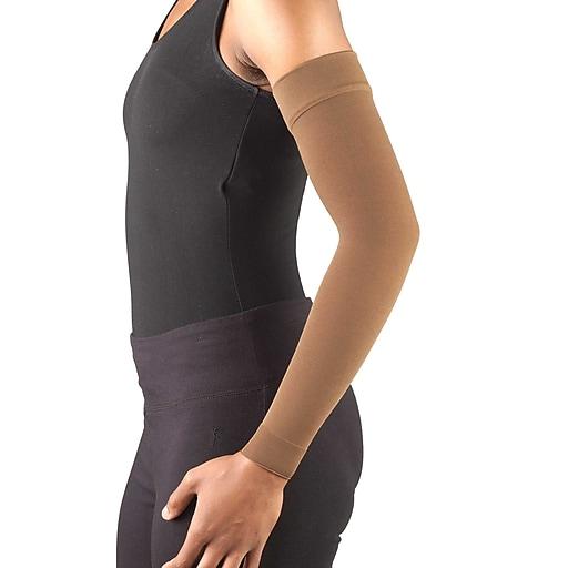 Truform Lymphedema Compression Arm Sleeve: 20-30 mmHg, L, (3325BN-L)