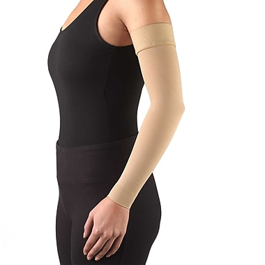 Truform Lymphedema Compression Arm Sleeve, Dot Top: 15-20 mmHg, L , (3316BG-L)