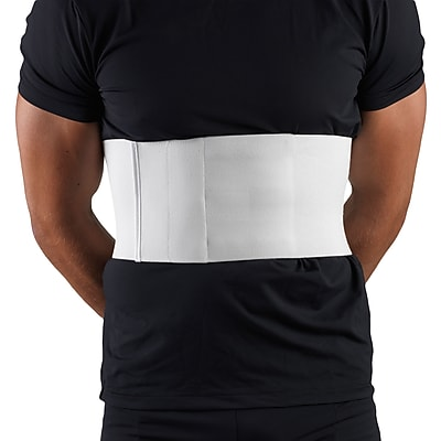 OTC Universal Rib Belt For Men, U/L, White, (2459U-L)
