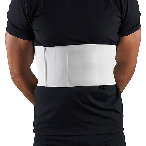 OTC Universal Rib Belt For Men, U/R, White, (2459U-R)
