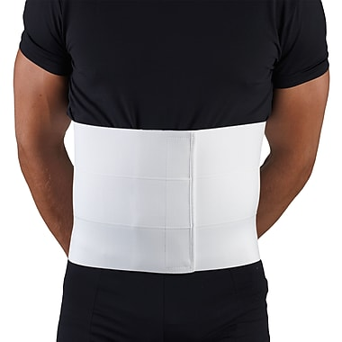 OTC Multiple Use Abdominal Binder - 10 inch, XL, White, (2518-XL)
