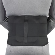 "OTC LumboTek Lumbosacral Support with 9"" Back Inserts, XL, Black, (2895-BL09-XL)"