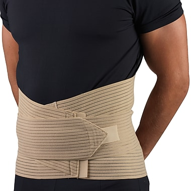 OTC Lumbosacral Support with Abdominal Uplift, L, Beige, (2893-L)