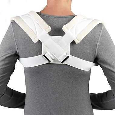 OTC Clavicle Strap, Figure-8 Design, White, Large (2453-L)